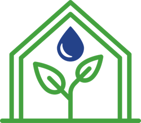 green house grown icon